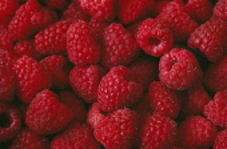 Raspberry, Rubus idaeus.