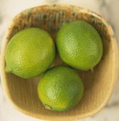 Three Limes in a bowl.